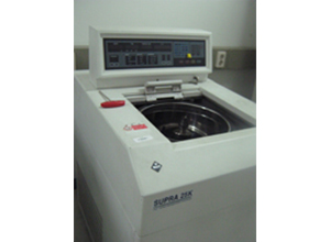 Highspeed centrifuge